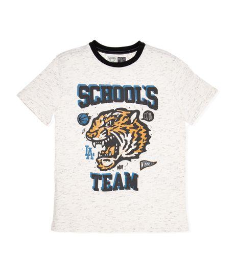 Camiseta-manga-corta-Ropa-nino-Blanco