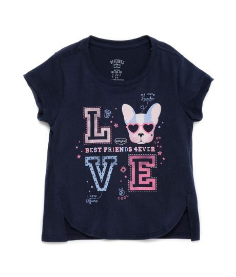 Camiseta-manga-corta-Ropa-bebe-nina-Azul