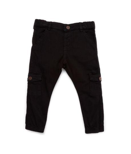 Pantalon-tipo-cargo-Ropa-bebe-nino-Gris