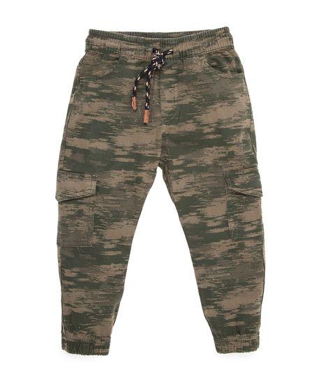 Pantalon-tipo-cargo-Ropa-bebe-nino-Verde