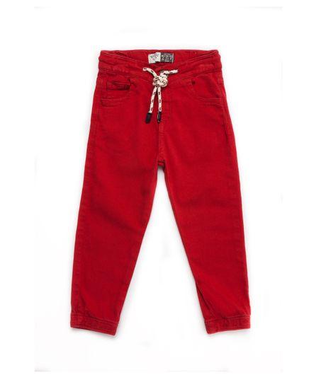 Pantalon-largo-Ropa-bebe-nino-Rojo