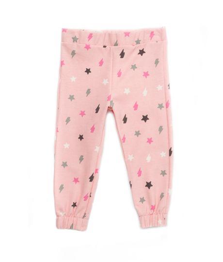 Pantalon-de-pijama-Ropa-bebe-nina-Rosado