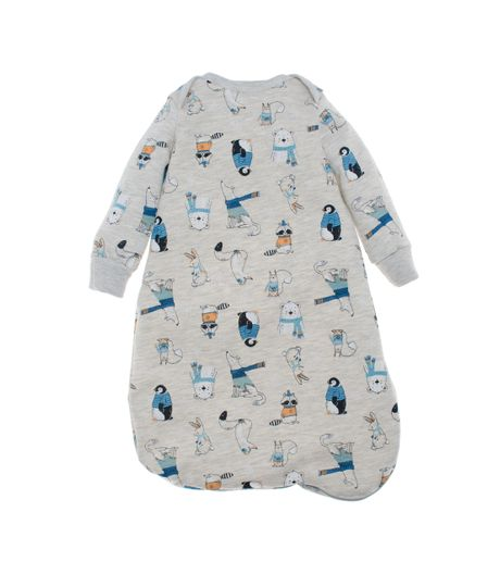 Pijama-sleeping-Ropa-recien-nacido-nino-Azul