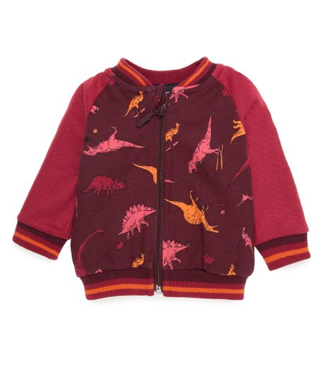 Bomber-jacket-Ropa-recien-nacido-nino-Morado