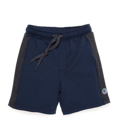 Pantaloneta-deportiva-Ropa-bebe-nino-Gris