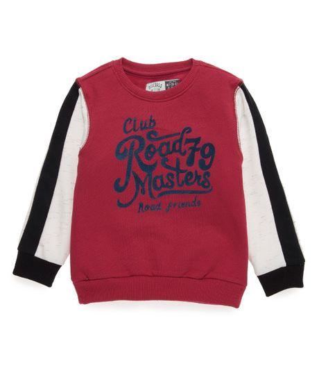 Buzo-Ropa-bebe-nino-Rojo