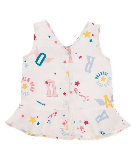 Camisa-manga-sisa-Ropa-nina-Blanco
