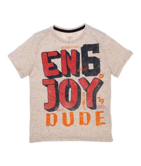 Camiseta-manga-corta-Ropa-nino-Gris