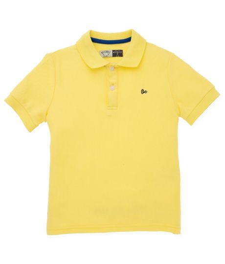 Camiseta-tipo-polo-Ropa-nino-Amarillo