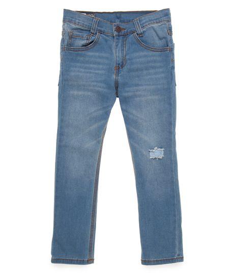 Jean-ultra-slim-Ropa-nino-Indigo-claro