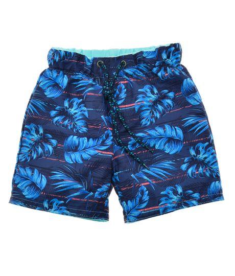Pantaloneta-de-baño-doble-faz-Ropa-bebe-nino-Azul