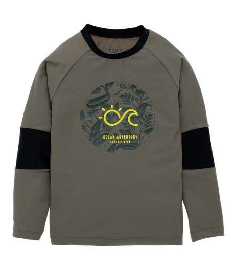 Camiseta-de-playa-Ropa-nino-Verde