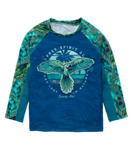 Camiseta-de-playa-Ropa-bebe-nino-Verde