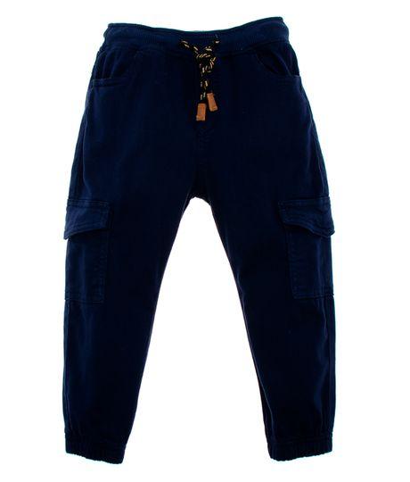 Pantalon-tipo-cargo-Ropa-bebe-nino-Azul