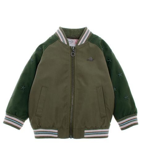 Bomber-jacket-Ropa-bebe-nina-Verde