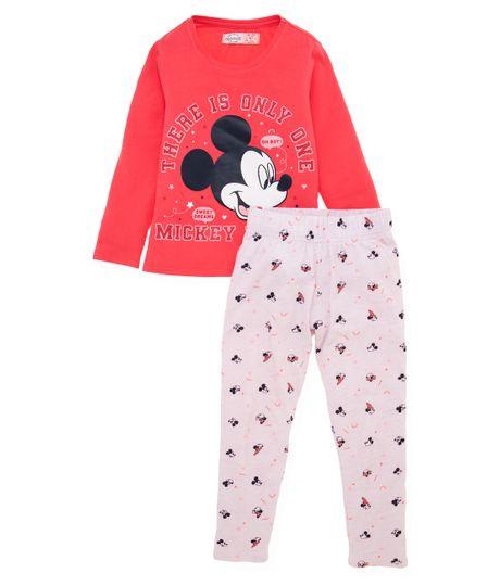 Pijama-Ropa-bebe-nina-Rojo