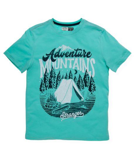 Camiseta-manga-corta-Ropa-nino-Verde