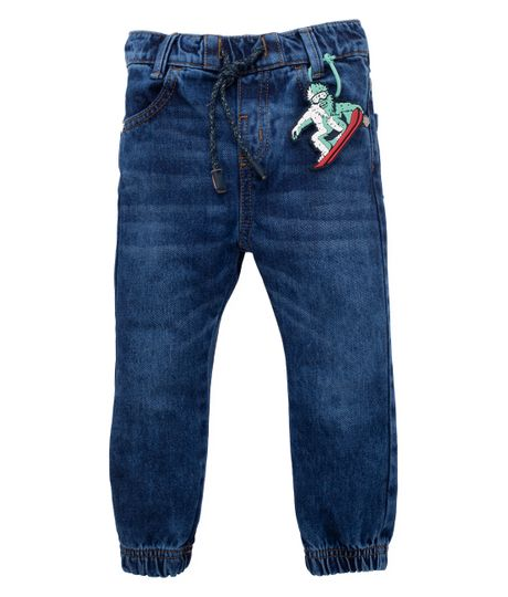 Jean-tipo-jogger-Ropa-bebe-nino-Indigo-oscuro