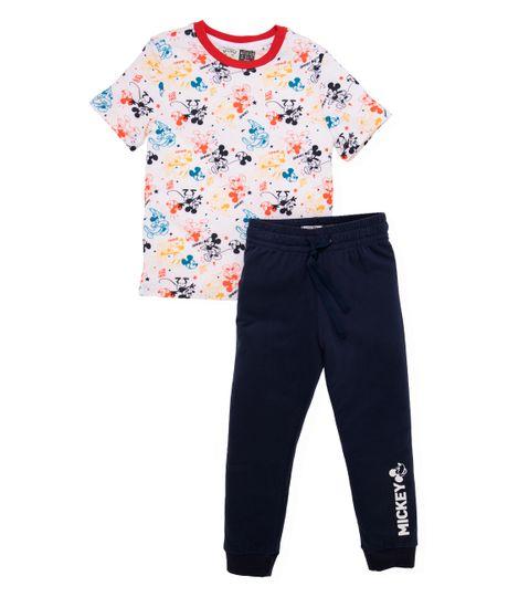 Pijama-Ropa-bebe-nino-Blanco