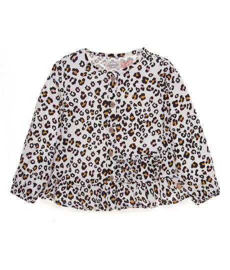Camisa-manga-larga-Ropa-bebe-nina-Gris
