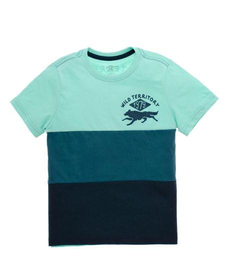 Camiseta-manga-corta-Ropa-nino-Azul