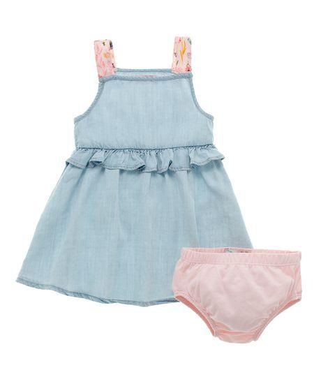 Vestido-con-panty-Ropa-recien-nacido-nina-Indigo-claro