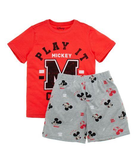 Pijama-Ropa-nino-Rojo