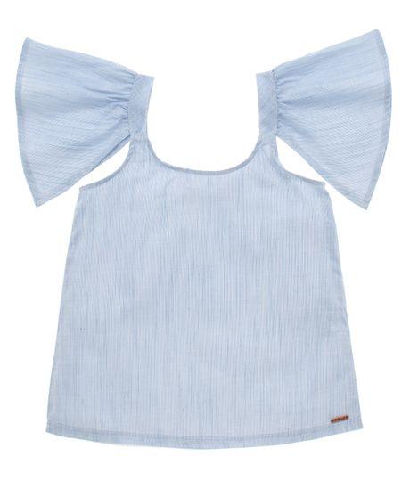 Camisa-manga-corta-Ropa-nina-Morado