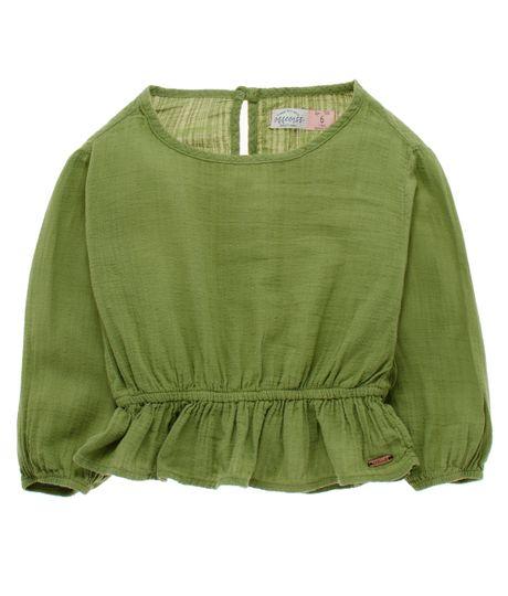 Camisa-manga-larga-Ropa-nina-Verde