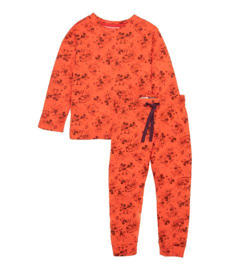 Pijama-Ropa-bebe-nino-Rojo