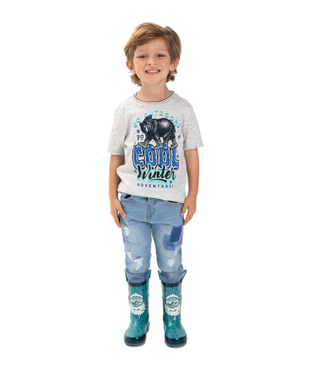 Botas-plasticas-Ropa-bebe-nino-Azul