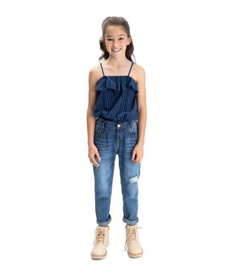 Camisa-manga-sisa-Ropa-nina-Indigo-medio