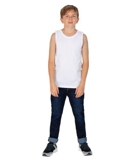 Camiseta-interior-Ropa-nino-Blanco