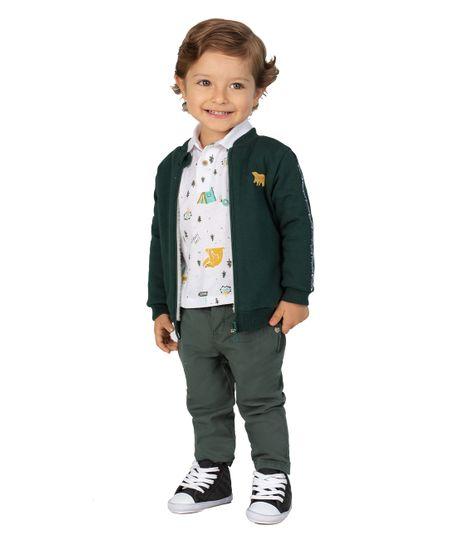 Bomber-jacket-Ropa-recien-nacido-nino-Verde