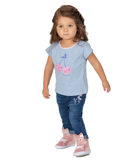 Camiseta-manga-corta-Ropa-recien-nacido-nina-Morado