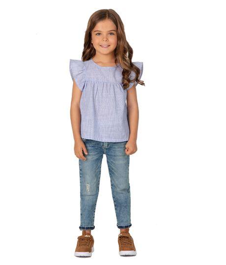 Camisa-manga-corta-Ropa-bebe-nina-Morado