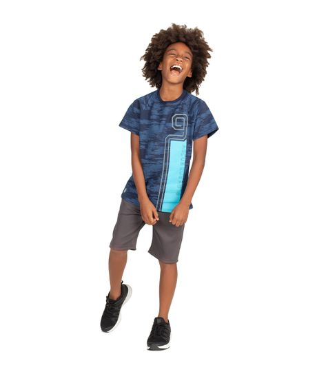 Camiseta-deportiva-Ropa-nino-Azul