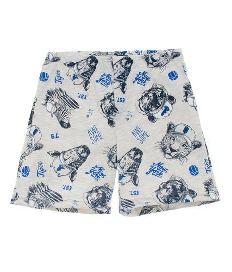 Bermuda-de-pijama-Ropa-nino-Gris