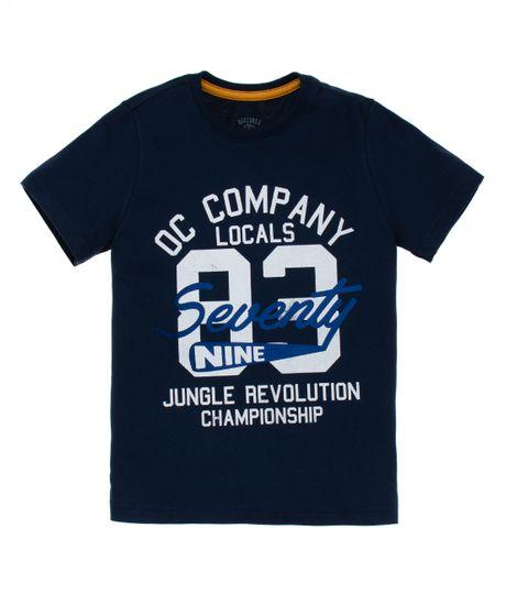 Camiseta-de-pijama-Ropa-nino-Azul