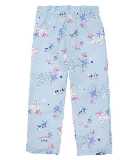 Pantalon-de-pijama-Ropa-nina-Azul