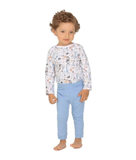 Pijama-Ropa-recien-nacido-nino-Blanco