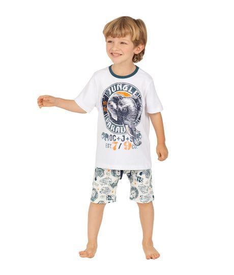 Bermuda-de-pijama-Ropa-bebe-nino-Gris