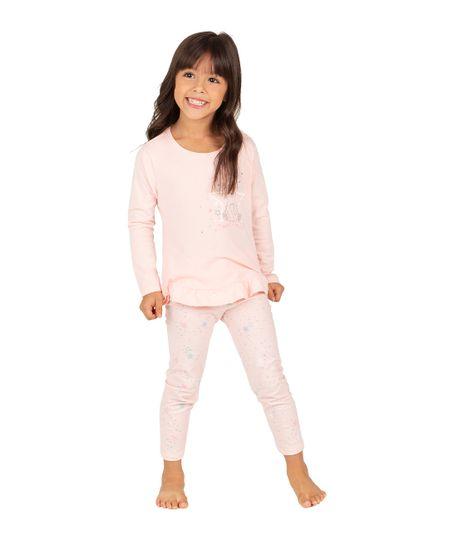 Camiseta-de-pijama-Ropa-bebe-nina-Rosado