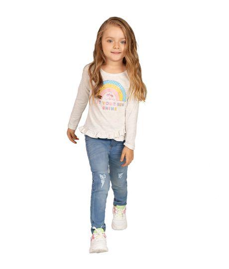 Camiseta-manga-larga-Ropa-bebe-nina-Gris
