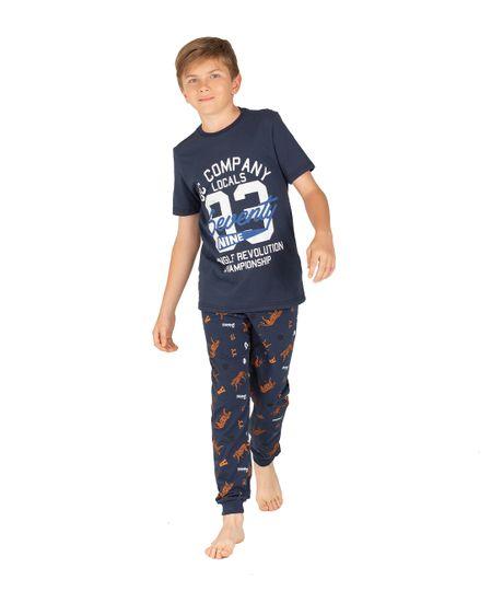 Sudadera-de-pijama-Ropa-nino-Azul
