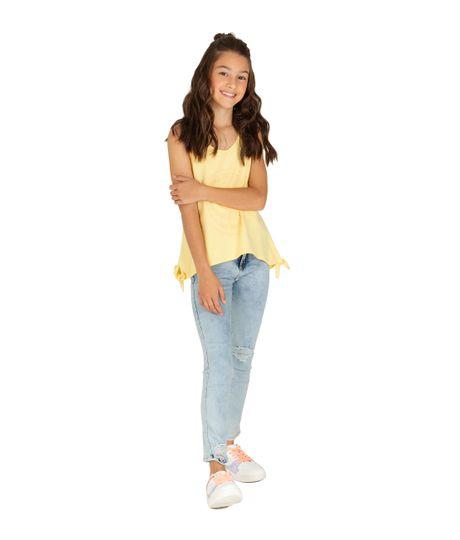 Camiseta-manga-sisa-Ropa-nina-Amarillo