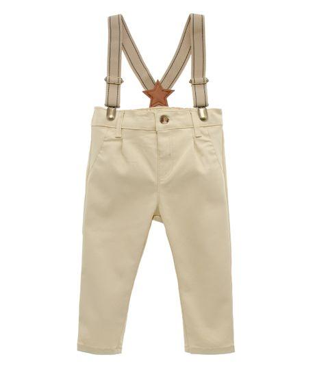 Pantalon-con-cargaderas-Ropa-recien-nacido-nino-Cafe