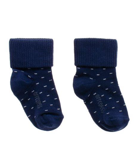 Medias-tejidas-Ropa-recien-nacido-nino-Azul