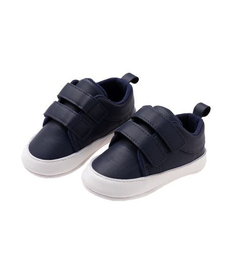 Zapatos-cosidos-Ropa-recien-nacido-nino-Azul