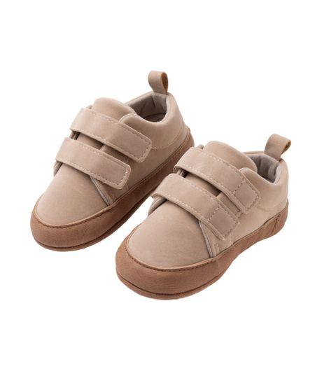 Zapatos-cosidos-Ropa-recien-nacido-nino-Cafe